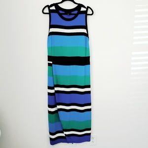 Lane Bryant faux wrap midi dress 18/20